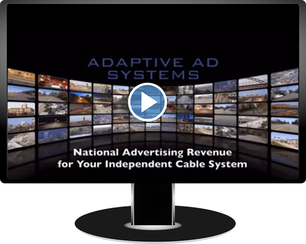 National Advertising Revenue For Your Independent Cable System